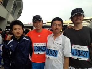 名古屋シティマラソンに参加